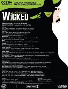 wicked-méxico-personajes-audiciones